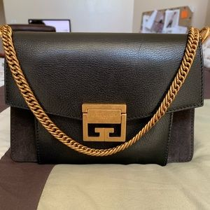 Givenchy GV3 small goat leather w/ suede